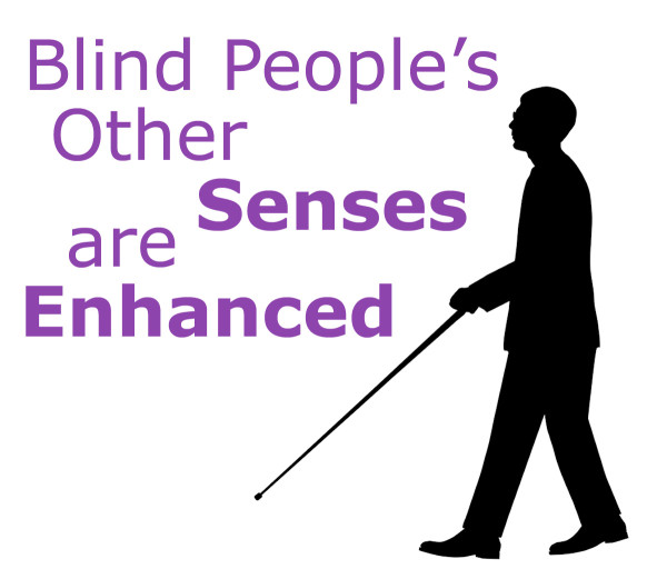Blind People's Other Senses are Enhanced