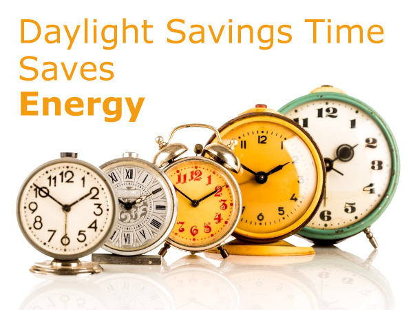Daylight Savings Time Saves Energy
